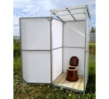 Туалетная кабинка садовая